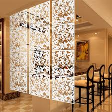 4pcs butterfly flower diy hanging wall screen room division panels