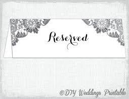 printable reserved table signs printable printable reserved table signs card template antique lace