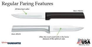 best american made kitchen knives regular paring rada fundraising store