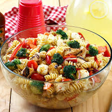 chicken pasta salad signature italian chicken pasta salad lawry s