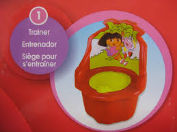 Mickey Mouse Potty Seat Instructions by Dora The Explorer 3 In 1 Potty Chair Red Baby N Toddler
