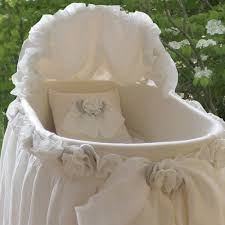 edinburgh bassinet with linens and luxury baby cribs in baby