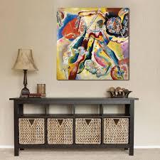 Peinture Moderne Pour Salon by Online Get Cheap Peintures Wassily Kandinsky Aliexpress Com