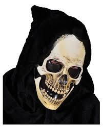 Skull Mask Halloween Hooded Skeleton Mask As A Death Skull Mask Horror Shop Com