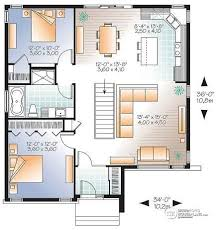 open modern floor plans house plan w3135 detail from drummondhouseplans