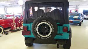 turquoise jeep cj 1993 jeep wrangler s stock 227274 for sale near columbus oh