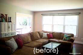 livingroom makeovers 30 day living room makeover i nap time