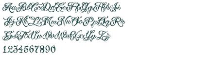 vtc tattoo script two font download free truetype