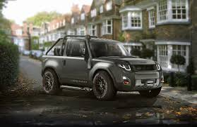 range rover defender 2018 could the new land rover defender look like this carwow