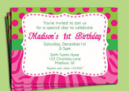 template free make your own cheap birthday invitations with