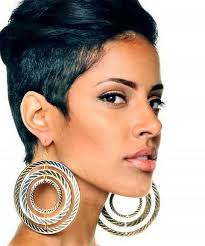 beautiful women hairstyle with sideburns natural hairstyles for african american women her pinterest
