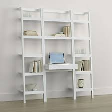 crate and barrel ladder desk 15 best ideas of crate and barrel bookcases