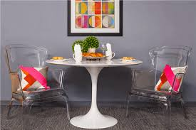 Rent Dining Room Set by Wilco White Round Dining Table For Rent Brook Furniture Rental