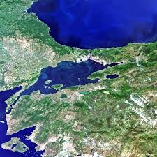 Istanbul On World Map by Istanbul The Pale Blue Dot