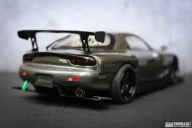 stanced rx7 tamiya mazda rx7 scaledworld