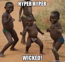 Hyper Dog Meme - list of synonyms and antonyms of the word hyper meme