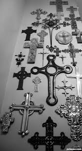 Cross Wall Decor by Best 25 Wall Crosses Ideas On Rustic Cross Wall
