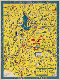 Grand Teton Map A Hysterical Map Of The Jackson Hole Country And Grand Teton