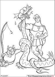 hercules dragon coloring pages kids printable free