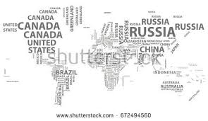 world map black and white with country names pdf vector world map country names typography stock vector 672494560