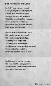 Resume Dorothy Parker 100 Dorothy Parker Resume Poem Perfectly Fine Image Result