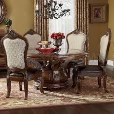 Michael Amini Furniture Sale 3952 00 Tuscano Melange Round Dining Set By Michael Amini