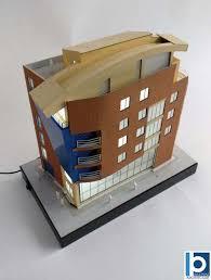 bureau architecte qu ec modèle architectural de bâtiment de bureau de brique maquettes d