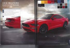 Mustang Boss 302 Black And Red 2018 Mustang Refresh Released 2018 Mustang Photos Cj Pony Parts