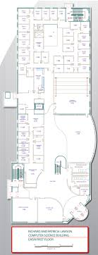 building floor plan purdue department of computer science lawson building