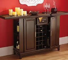 Kitchen Sideboard Cabinet by Amazon Com Wine Bar Liquor Cabinet Expanding Top Entertainment