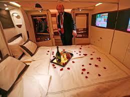 extravagant things you can get on an airplane business insider