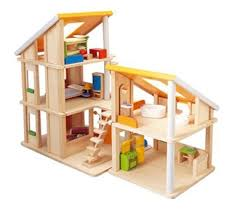 Best Eco Friendly Dollhouses From by Plan Toys Eco Friendly Chalet Dollhouse