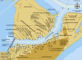 Galveston Island Map Galtex Pilots Charts Docks