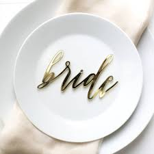 wedding plate settings and groom wedding place settings by here s to us