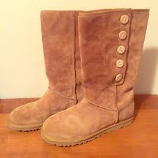 womens ugg lo pro boot chestnut 53 ugg shoes ugg lo pro button size 8 s n 3387 from