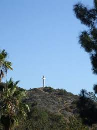 Cross On - a cross on a hill dedicated to a who preseted lots of