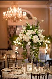 White Centerpieces Wedding Centerpieces White Tall White Wedding Centerpiece
