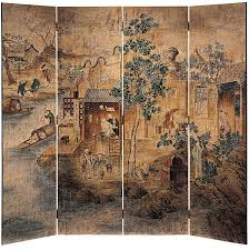 Hand Painted Fireplace Screens - 252 best painted room dividers and folding screens images on