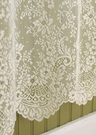 Heritage Lace Shower Curtains by Floret Pine Hill Collections