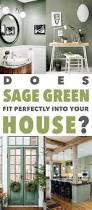 does sage green fit perfectly into farmhouse decor sage