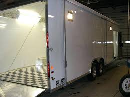 enclosed trailer exterior lights awning for enclosed trailer elite foot enclosed trailer with awning