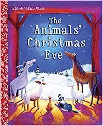 animals christmas eve the little golden books random house