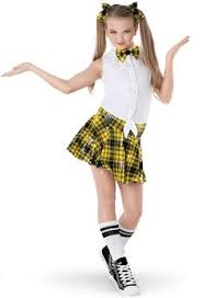 school girl costumes school girl 320 jazz tap pageant skate costume