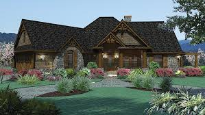 side split house plans enchanted hwbdo76576 country from builderhouseplans