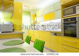 Interior Designing Kitchen Yellow Furniture Stock Images Royalty Free Images U0026 Vectors
