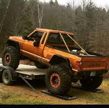 jeep rock crawler buggy powered jeep comanche buggy