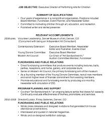Performing Arts Resume Template Combination Resume Sample Resume Example
