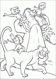 jungle book coloring pages disney coloring pages
