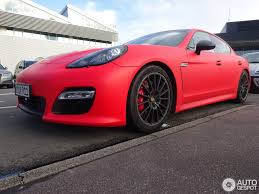 red porsche panamera porsche panamera gts 3 january 2015 autogespot