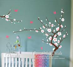 Cherry Blossom Wall Decal For Nursery Yellow Cherry Blossom Wall Decals Cuma Wall Decals